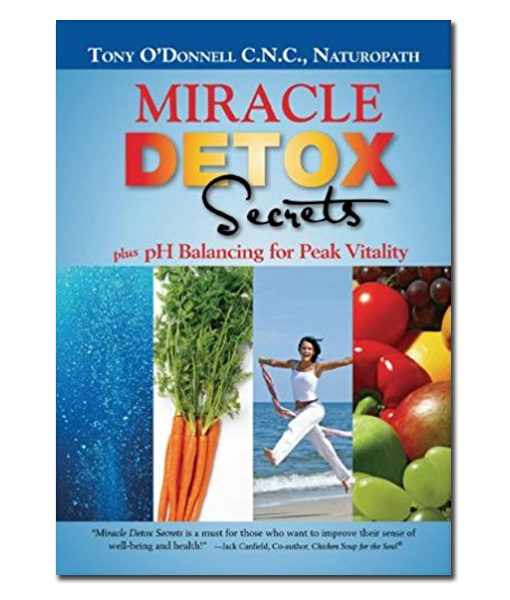 Radiant-Greens-Author-Tony-O-Donnell-Miracle-Detox-Secrets-Book-