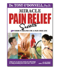 Radiant-Greens-Author-Tony-O-Donnell-Miracle-Pain-Relief-Secrets-Book