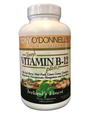 Radiant-Greens-Dr-Tony-ODonnell-Vitamin-B-12-Plus-Irelands-Finest