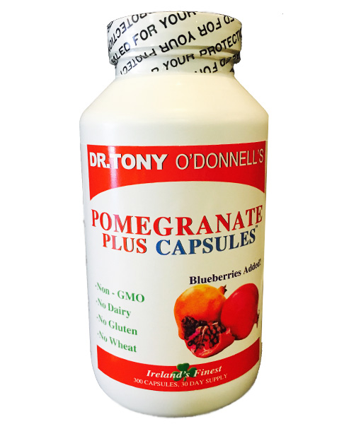 Radiant-Greens-Tony-O-Donnell-Pomegranate-Plus-Capsuels