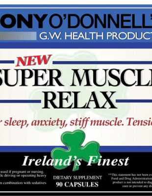 Radiant-Greens-Tony-O-Donnell-Super-Muscle-Relax-Ingredients-Irelands-Finest